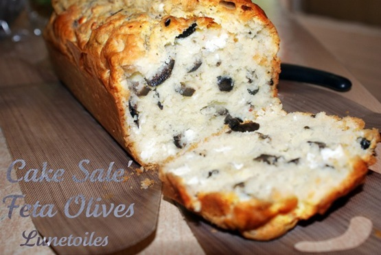 Cake Aux Olives Et Feta Marmiton