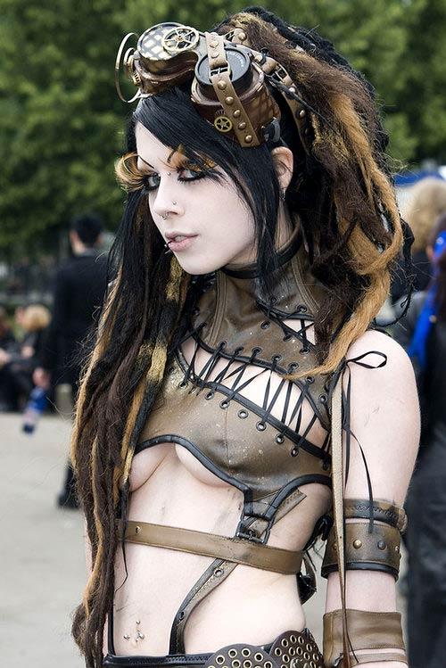 La mode gothique - Steampunk style vestimentaire ...