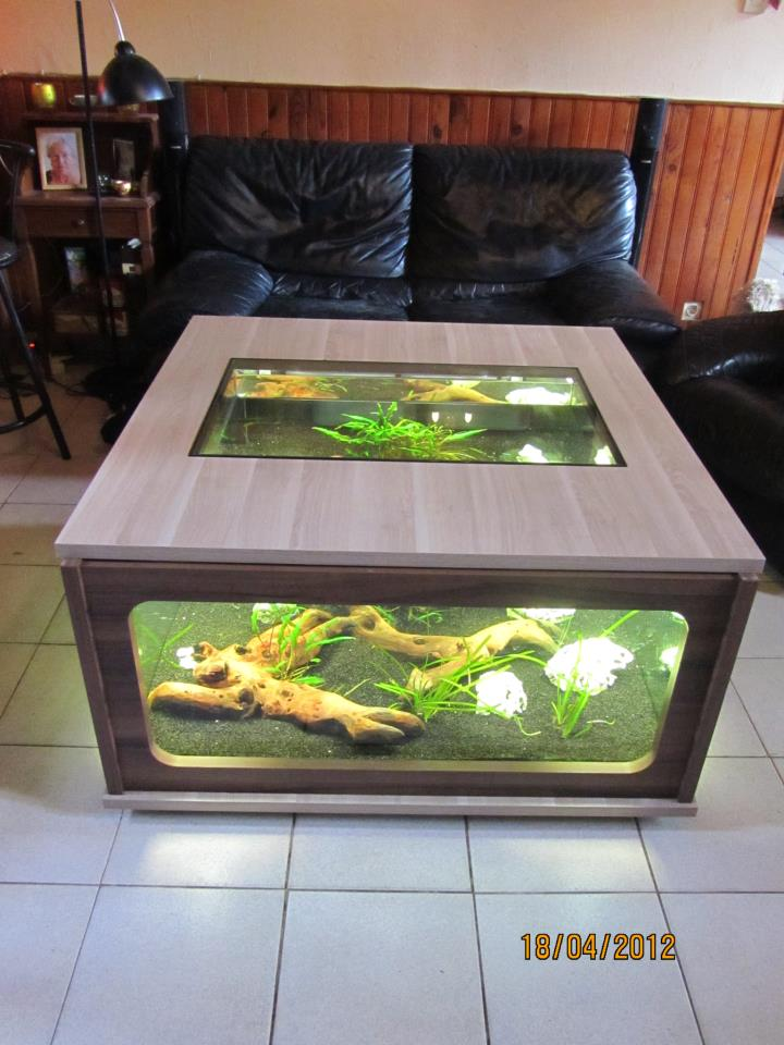 table aquarium. Black Bedroom Furniture Sets. Home Design Ideas