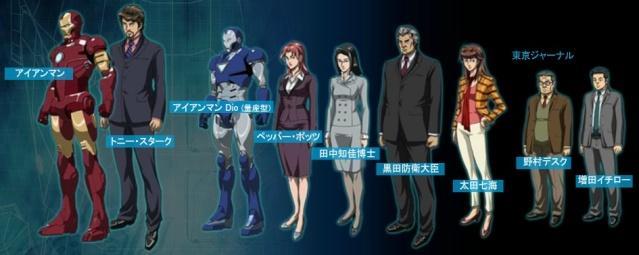 2010 iron man animated series - Iron man en dessin anime ...
