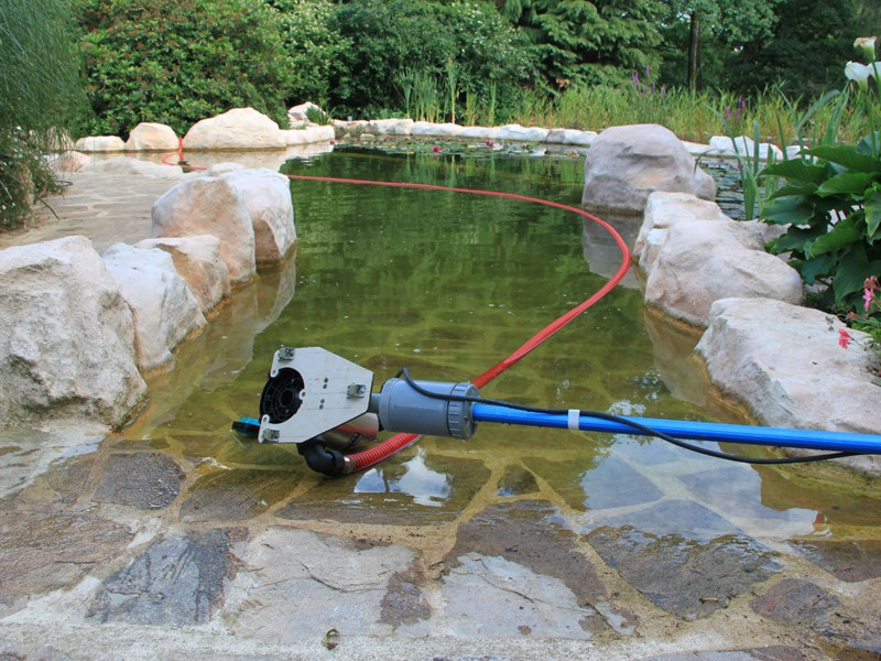 Bidouille de nettoyage forum aquajardin bassin ko for Pompe pour mare