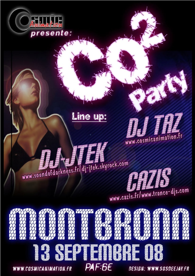 Flyer CO² Party