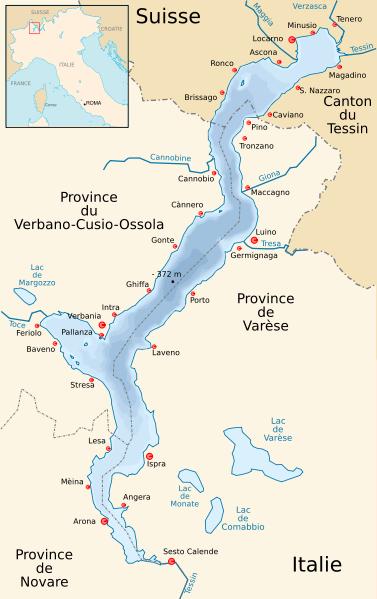 carte Lago Maggiore
