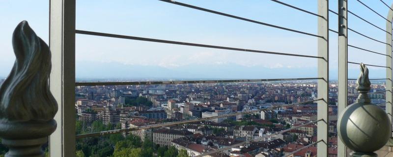 vue sur Torino au sommet de la Mole