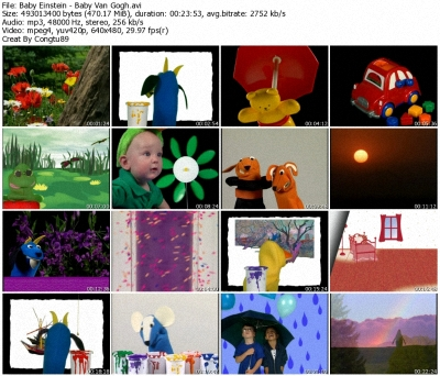 Baby Einstein Baby Van Gogh World Of Colors Dvdrip Xvid