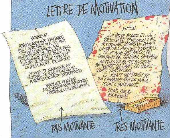 structure de la lettre de motivation