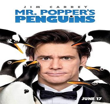 فيلم Mr Poppers Penguins 2011 مترجم للنجم جيم كاري