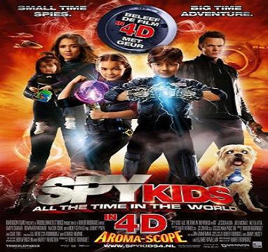 فيلم Spy Kids 4 2011 DVDRip مترجم بجودة دي في دي