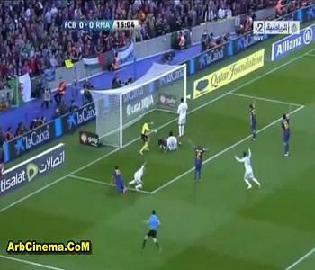 أهداف فوز ريال مدريد 2-1 على برشلونة