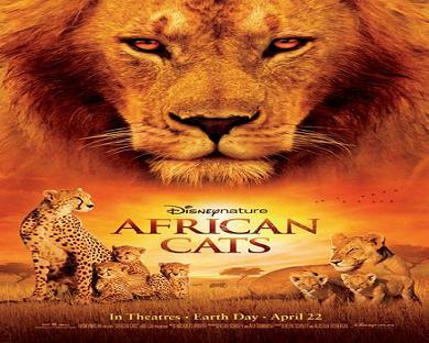 فيلم African Cats 2011 مترجم بجودة DVDrip