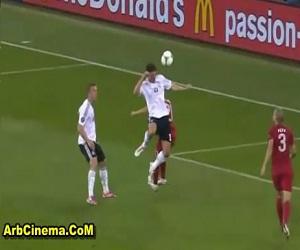 هدف مباراة المانيا 1 - 0 البرتغال كأس امم اوروبا 2012