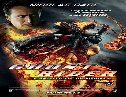 فيلم Ghost Rider Spirit of Vengeance HDrip مترجم ديفيدي DVD