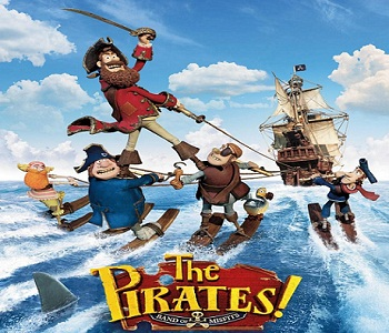 فيلم The Pirates Band of Misfits 2012 R5 مترجم دي في دي DVDr