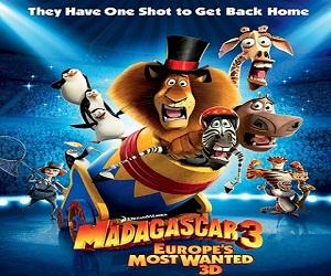 بإنفراد فيلم Madagascar 3 2012 مترجم نسخة جديدة V2
