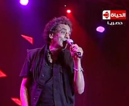 حفلة الكينج محمد منير فى السخنة