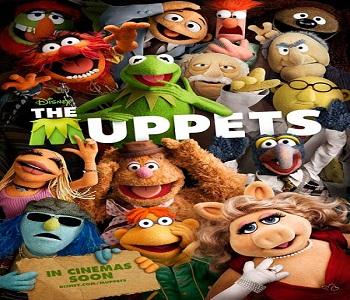 بإنفراد - فيلم The Muppets 2011 مترجم دي في دي DVD