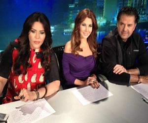 صور نانسي عجرم مع لجنة تحكيم arab idol 2 الموسم الثاني 2013