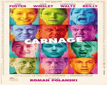 بإنفراد فيلم Carnage 2011 R5 مترجم جودة DVDr كوميدي