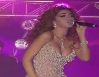 حفل ميريام فارس و هيفا وهبي و نانسي عجرم رأس السنة 2012