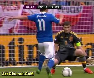 تعادل إيطاليا X اسبانيا 1-1 مشاهدة أهداف المباراة يورو 2012