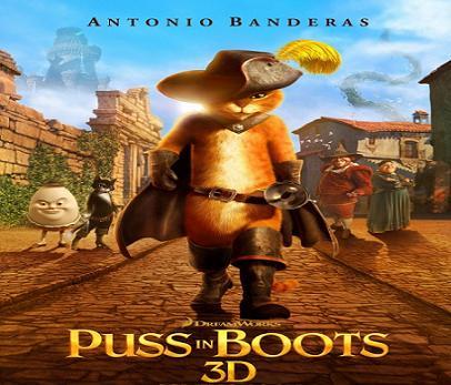 فيلم Puss in Boots 2011 مترجم بجودة DVDscr دي في دي