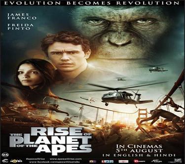 بإنفراد فيلم Rise Of The Apes 2011 مترجم بالترجمة الدقيقة