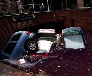 صور خطيرة من إعصار ساندي