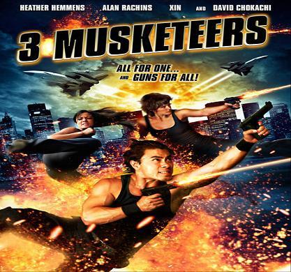 بإنفراد فيلم 3 Musketeers 2011 مترجم DVDRip أكشن