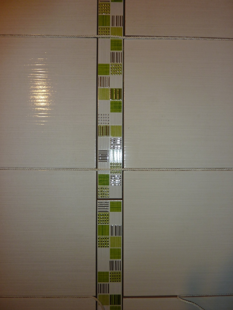 La salle de bain de cha travaux en cours photos p 4et5 for Frise faience salle de bain