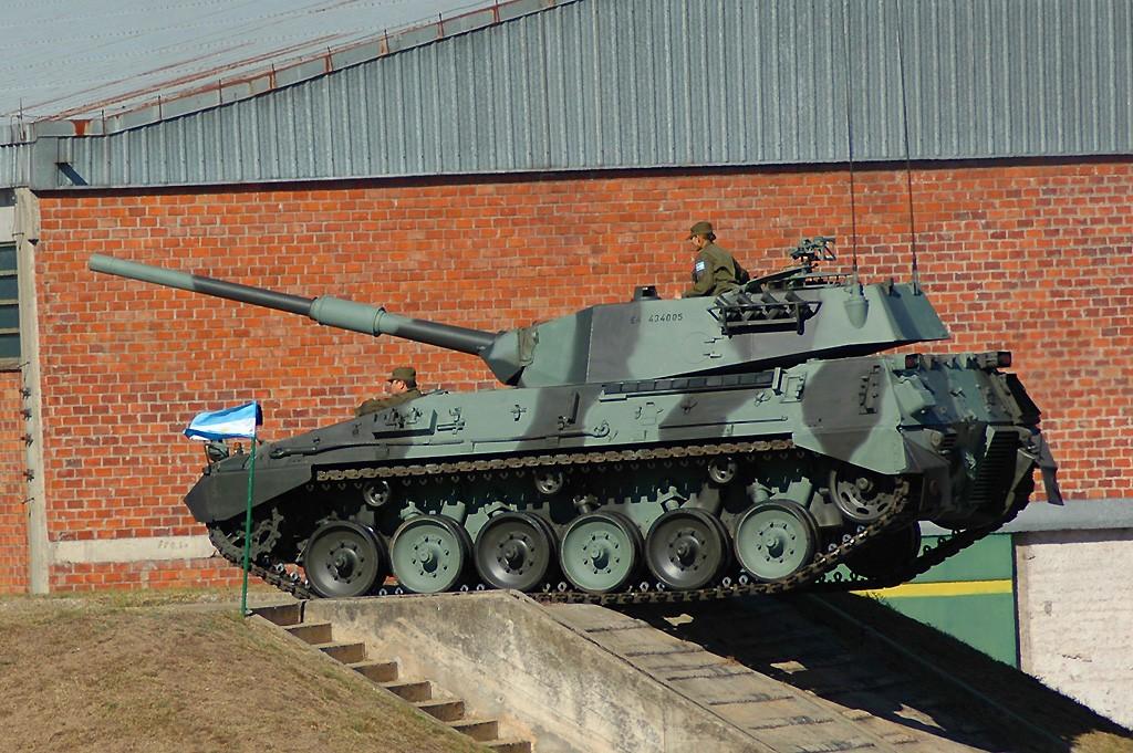 Los tanques Argentinos desde 1930 a 2012