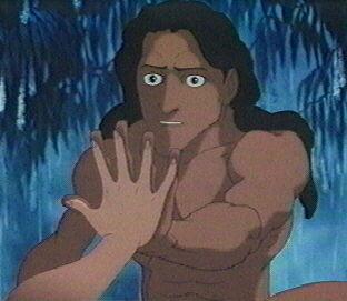 Tarzan and jane disney hands