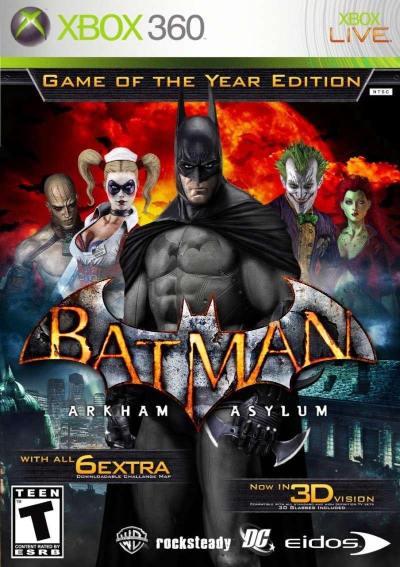 New Xbox 360 All Games : Batman arkham asylum xbox game dvd cheap oem software