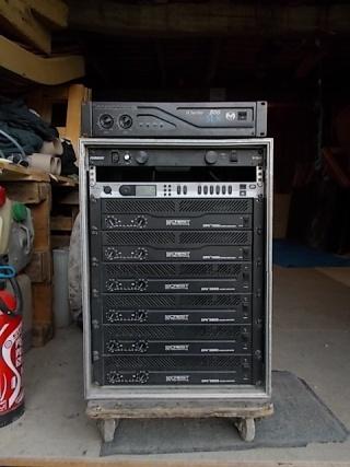 ampli sono rack