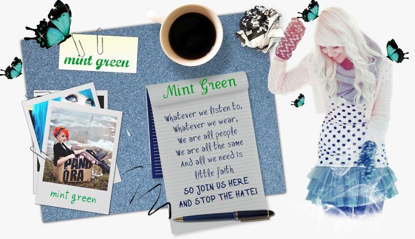 (( ������� ��� ���� Mint Green ))