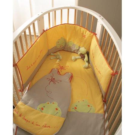 Lit de forme ronde for Lit ovale bebe