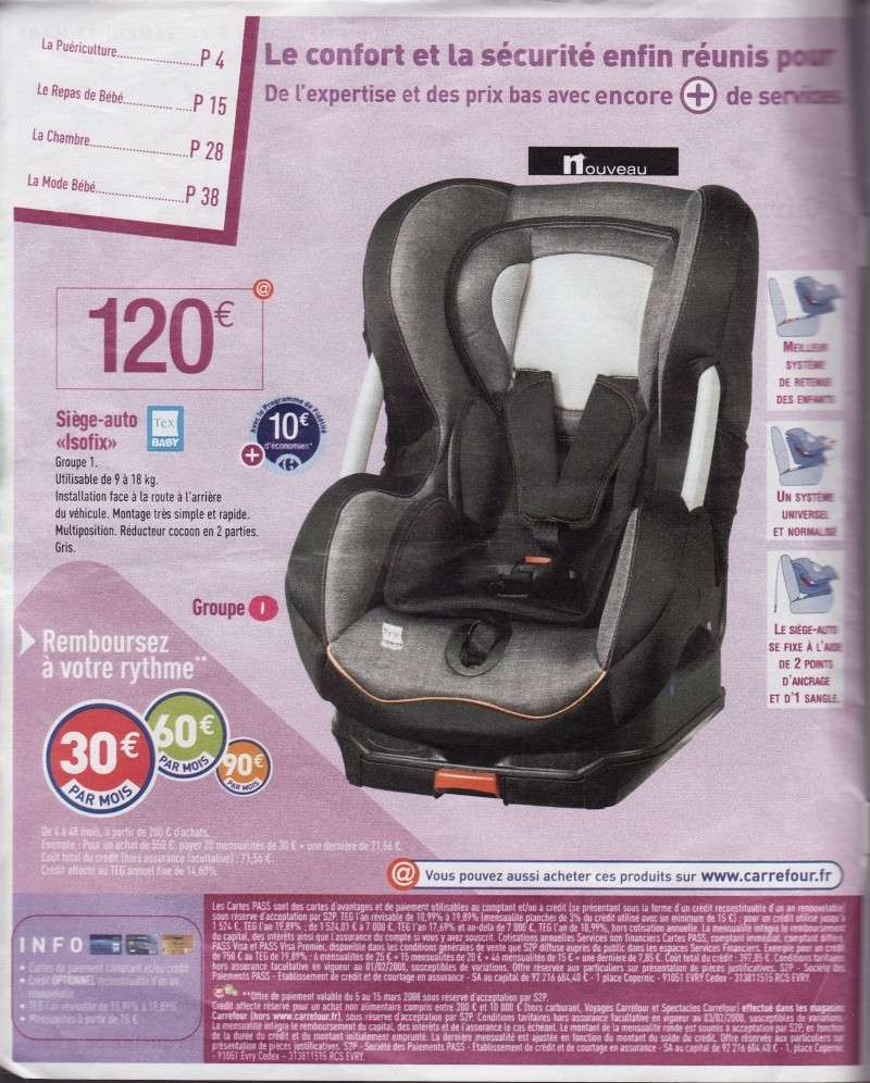 tex baby sort des sieges isofix. Black Bedroom Furniture Sets. Home Design Ideas