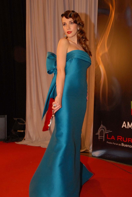 Natalia la m 225 s elegante de los premios martin fierro 2008 mas fotos
