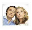 José Luis y su madre Toya