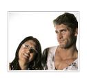 Rubén y su madre Rossi
