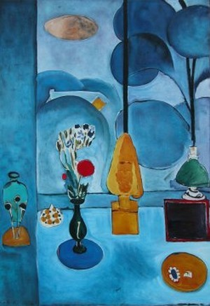 Matisse centre pompidou for Matisse fenetre a tahiti
