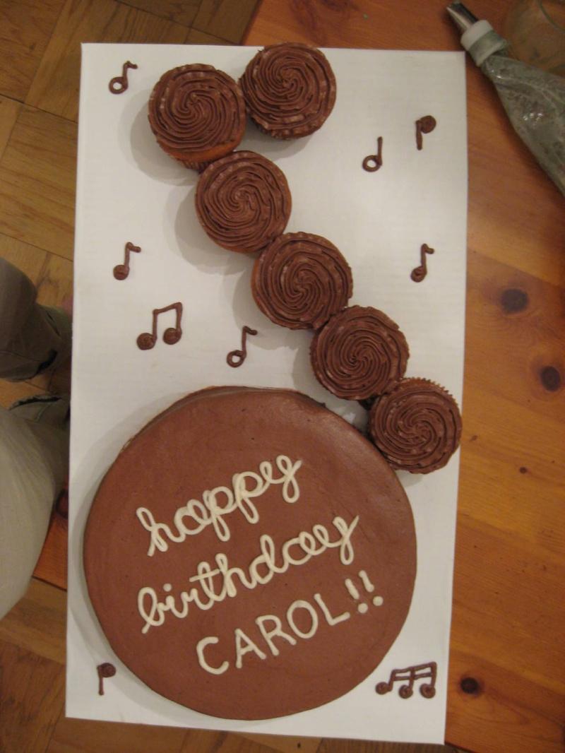 Happy Birthday Carol Cake Brithday Cake