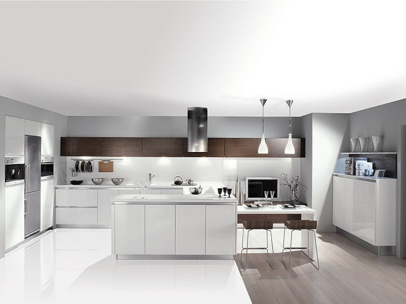 Une cuisine sans meuble haut - Ikea cuisine meuble haut blanc ...