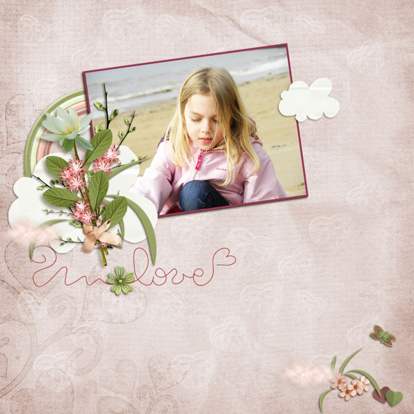 kit romantic spring simplette page niconat