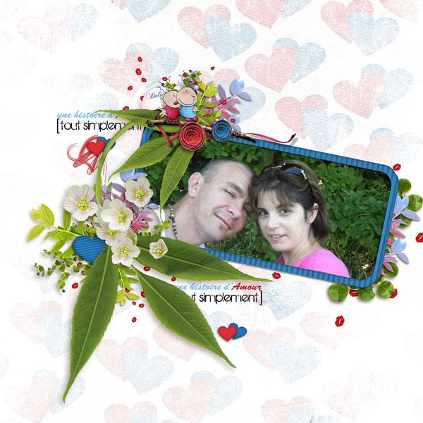 kit une histoire d'amour tout simplement simplette page niconat