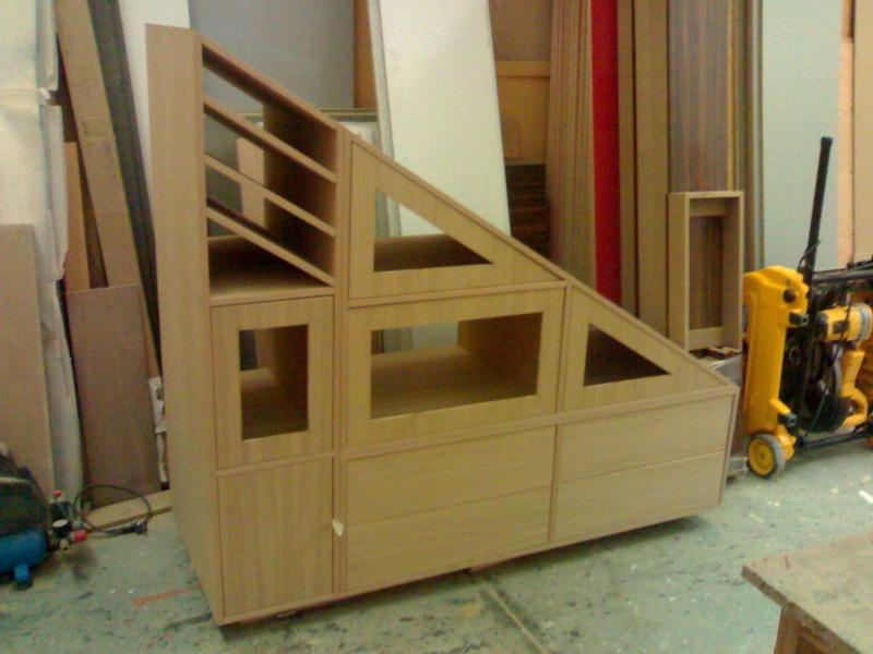 armario para hueco de la escalera