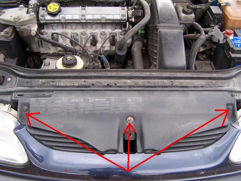 Renault laguna i 1 8 ess an 1998 changement de radiateur refroidissement - Comment demonter un radiateur ...