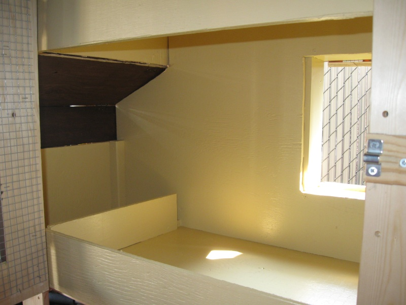 am nagement du poulailler nouvelles photos j 39 ai fini page 2. Black Bedroom Furniture Sets. Home Design Ideas