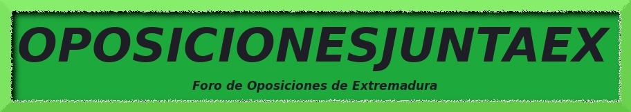 Foro Oposiciones Junta Extremadura