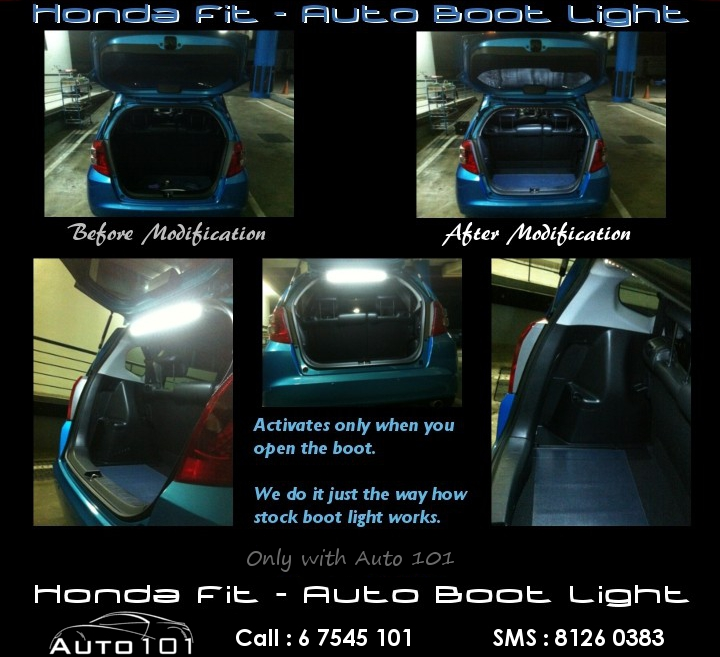 Auto Boot Light For Honda Fit Gd For Sale Mcf Marketplace