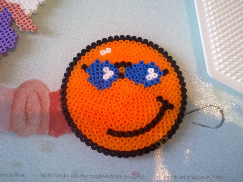 Perles repasser de chouetpuce - Smiley perle a repasser ...